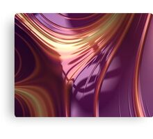 Purple Sheet Canvas Print