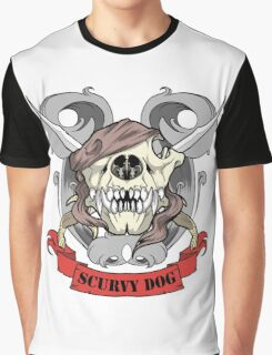 Scurvy Dog Graphic T-Shirt