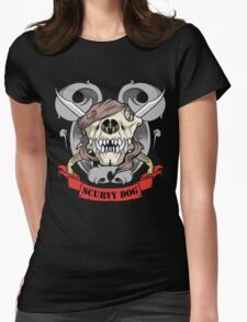 Scurvy Dog Womens Fitted T-Shirt