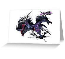 Monster Hunter 4 Ultimate Gore Magala Greeting Card