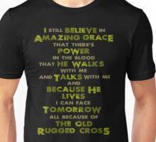 Amazing Grace - Gold Unisex T-Shirt