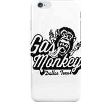 Monkey Garage Dallas iPhone Case/Skin