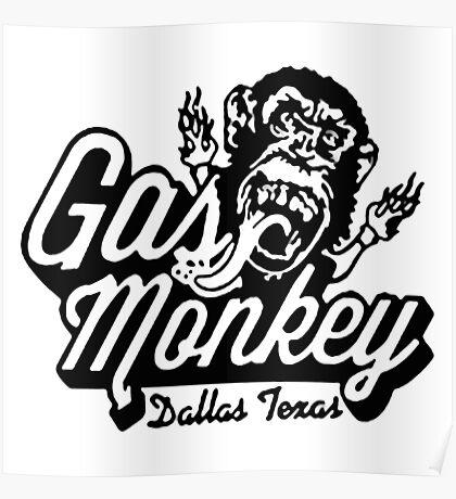 Monkey Garage Dallas Poster