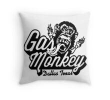 Monkey Garage Dallas Throw Pillow