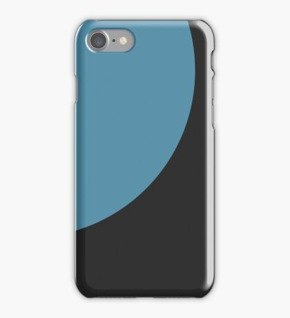The Blue Circle iPhone Case/Skin