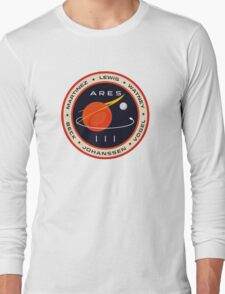 """""""Martian"""" Ares III Patch Long Sleeve T-Shirt"""