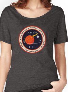 """Martian"" Ares III Patch Women's Relaxed Fit T-Shirt"
