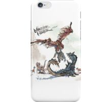 Rathalos and Lagiacrus Monster Hunter iPhone Case/Skin