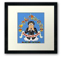 Iwata Tribute Framed Print