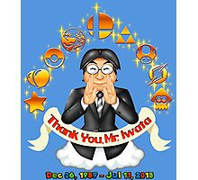 Iwata Tribute Photographic Print