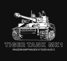 Tiger Tank Mark 1 One Piece - Short Sleeve