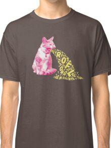 Word Vomit Classic T-Shirt