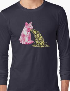 Word Vomit Long Sleeve T-Shirt