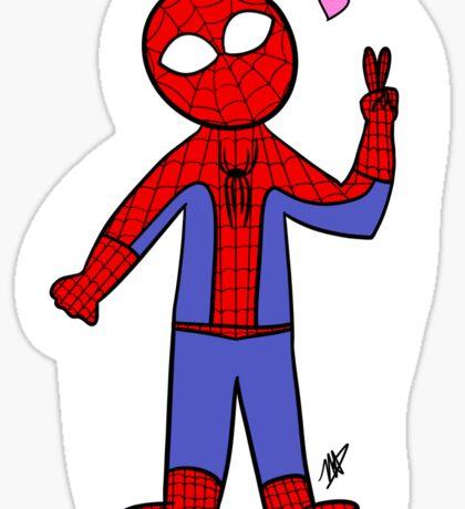 Chibi Spider-Man Sticker