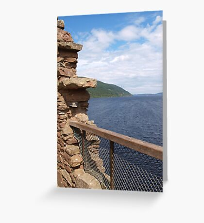 Gazing on the Ness Greeting Card