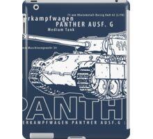 Panther Tank iPad Case/Skin