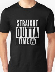 Back to the future - Straight outta time Unisex T-Shirt