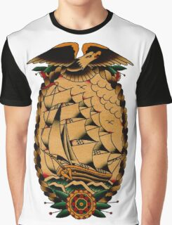 Clipper Ship Graphic T-Shirt