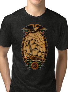 Clipper Ship Tri-blend T-Shirt
