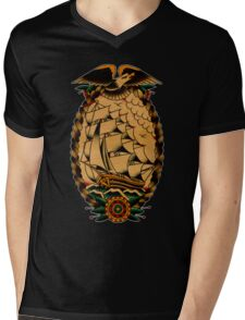 Clipper Ship Mens V-Neck T-Shirt