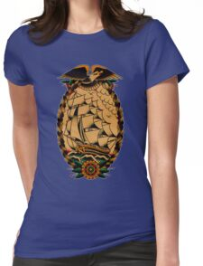 Clipper Ship Womens Fitted T-Shirt
