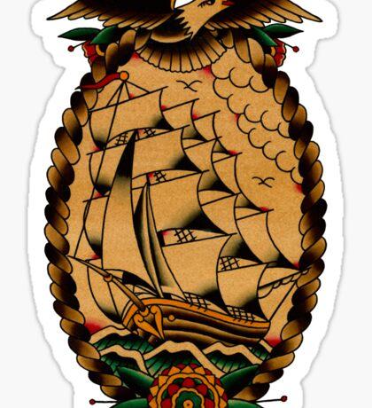 Clipper Ship Sticker