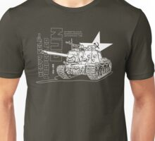 ISU-122 Self-Propelled Gun Unisex T-Shirt
