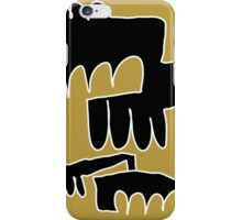 monaster black iPhone Case/Skin