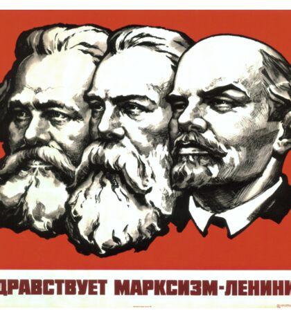 Karl Marx , Friedrich Engels , Wladimir Iljitsch Lenin Sticker
