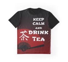 Keep Calm and Drink Tea - dark asia edition Graphic T-Shirt