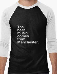 Manchester Music Men's Baseball ¾ T-Shirt