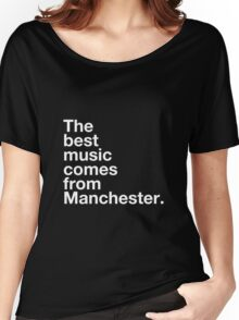 Manchester Music Women's Relaxed Fit T-Shirt