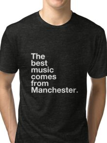 Manchester Music Tri-blend T-Shirt