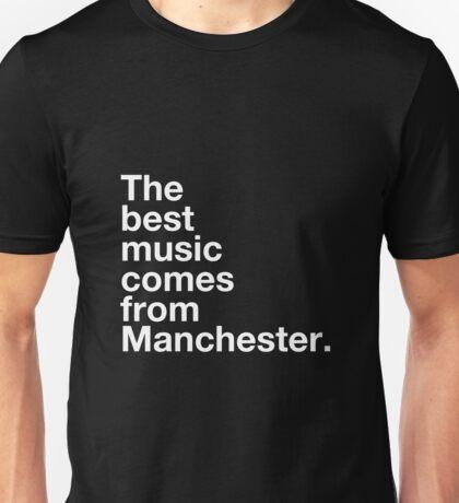 Manchester Music Unisex T-Shirt