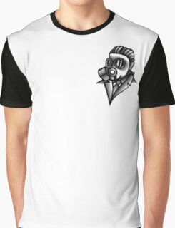 Fancy Gas Mask  Graphic T-Shirt