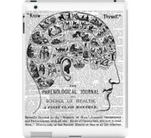 Phrenology - Know Thyself! iPad Case/Skin