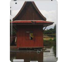 A Monk's quarters at Plai Laem Temple iPad Case/Skin