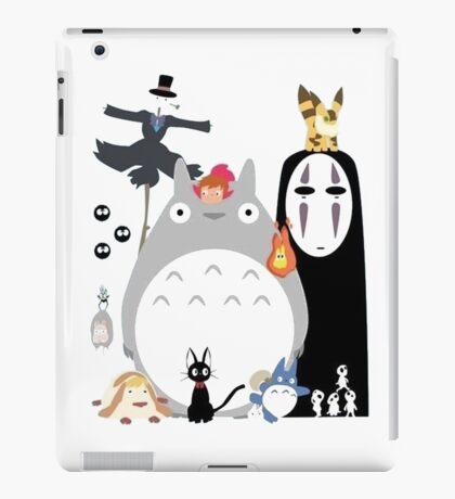 Studio Ghibli Gang family iPad Case/Skin
