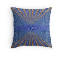 Abstract Box 401Q Fractal Throw Pillow