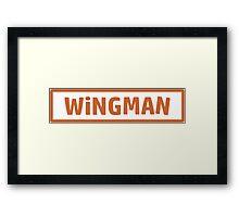 Wingman Framed Print