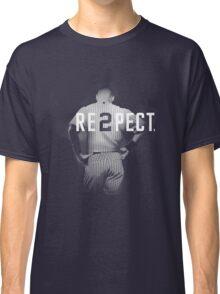 Respect Derek Jeter Classic T-Shirt