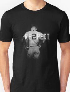 Respect Derek Jeter Unisex T-Shirt