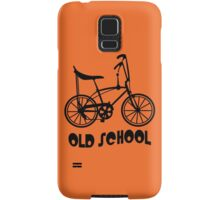 Old School Bike Fixie Bike Samsung Galaxy Case/Skin