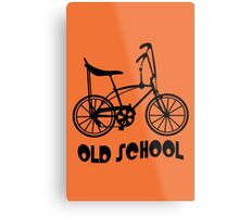 Old School Bike Fixie Bike Metal Print