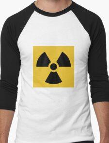 Radioactive Symbol Men's Baseball ¾ T-Shirt