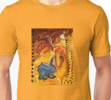 Moonfish and Tigerhare meet the Golden Dragon Unisex T-Shirt