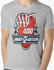 drive for autism Mens V-Neck T-Shirt