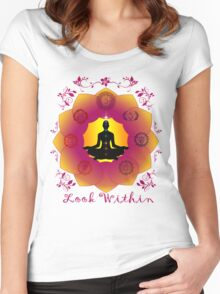 Look Within Women's Fitted Scoop T-Shirt