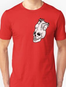 Dotwork SkullHeart Unisex T-Shirt