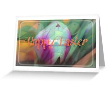 Tulips for Easter Greeting Card